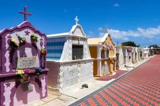 Friedhof Saint Ann Kirche auf Aruba
