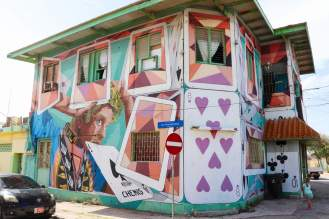 """Spielkarten"" Street Art San Nicolas"