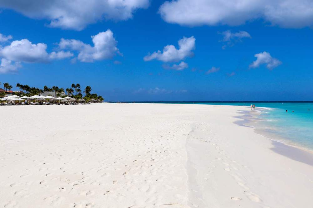 Manchebo Beach auf Aruba