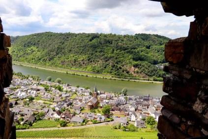 Aussicht von der Burg Thurant