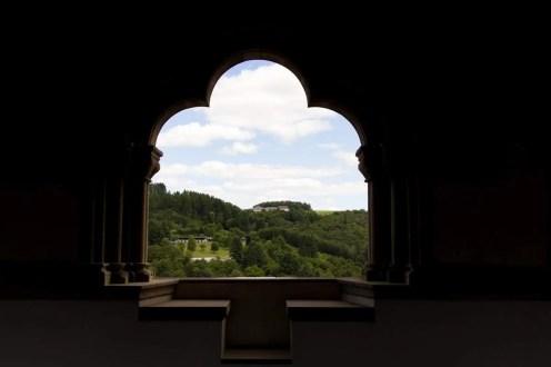 Aussicht von der Byzantinischen Galerie