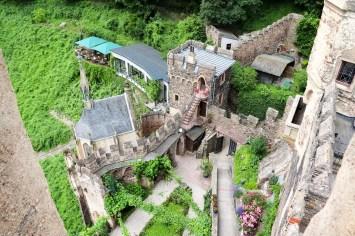 Burggarten Burg Rheinstein