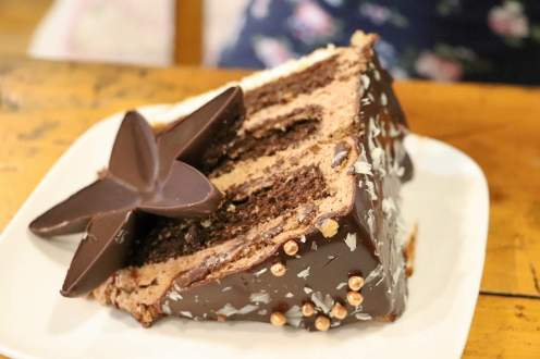 Kuchen im Chocolate House