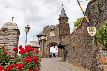Eingangstor Burg Cochem