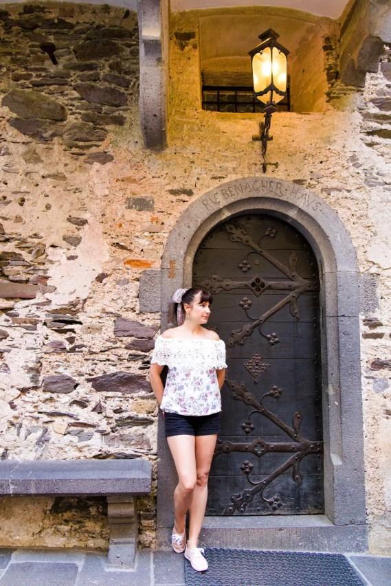 Eingangstür Burg Eltz