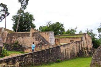 Fort Obergrünewald in der Stadt Luxemburg