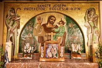 Wandmosaik in der Kathedrale