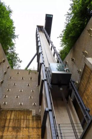 Pfaffenthal Lift in Luxemburg