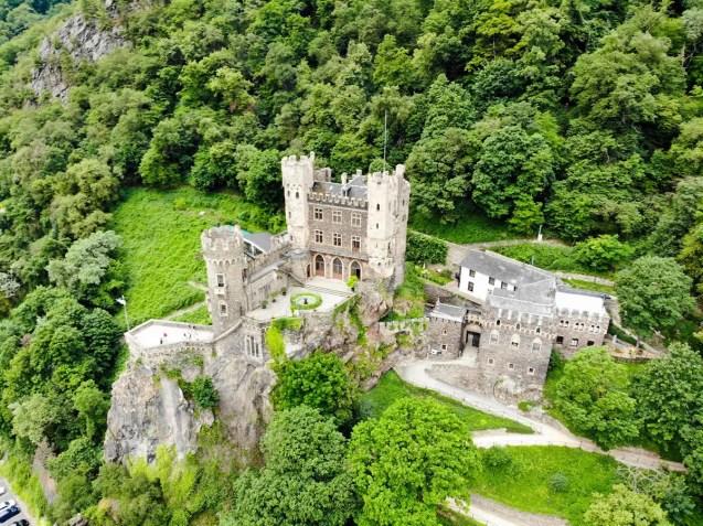 Romantik-Schloss Burg Rheinstein