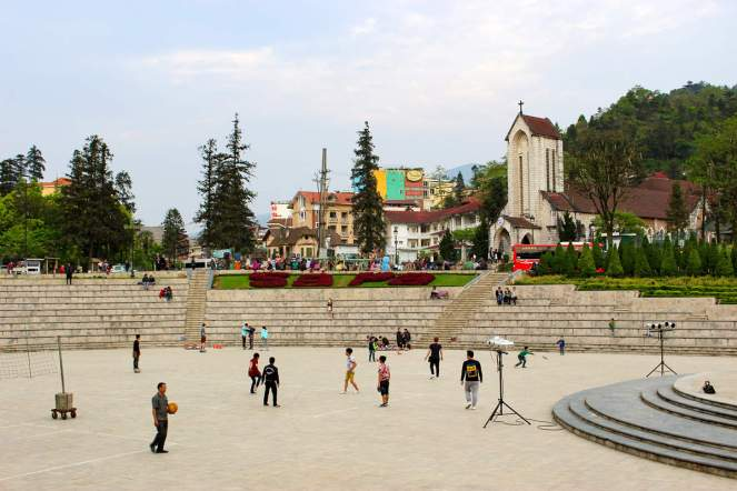 Sapa Town Square