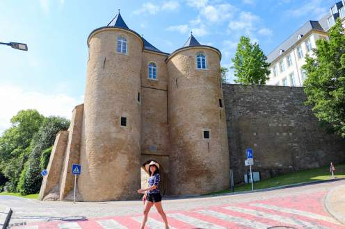 Spanish Turret, Porte des Trois Tours