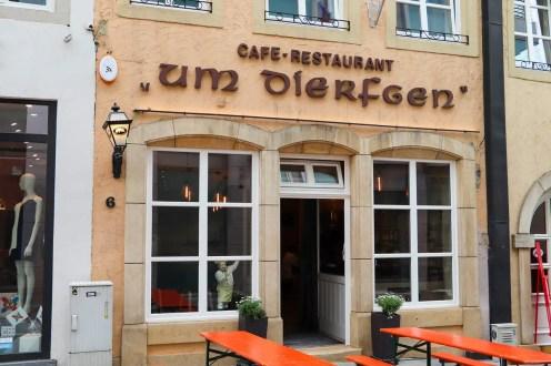 """""""Um Dierfgen"""" in Luxemburg"""