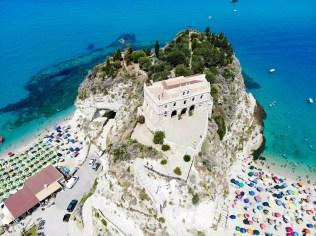 Santa Maria dell'Isola aus der Luft