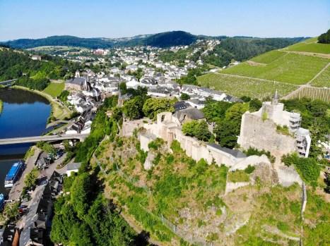 Burgruinen Saarburg
