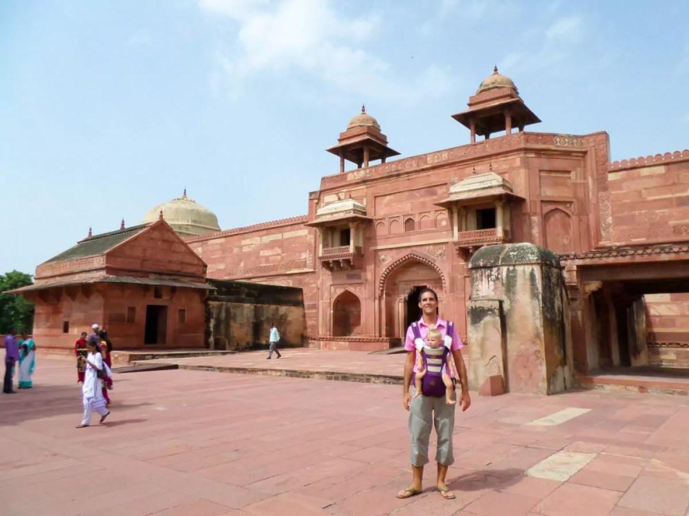 Jodha Bai Palast in Fatehpur Sikri