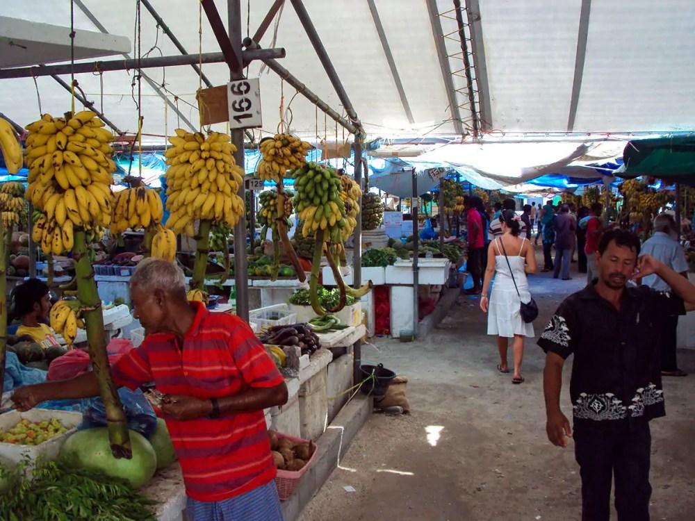 Lokaler Markt in Malé
