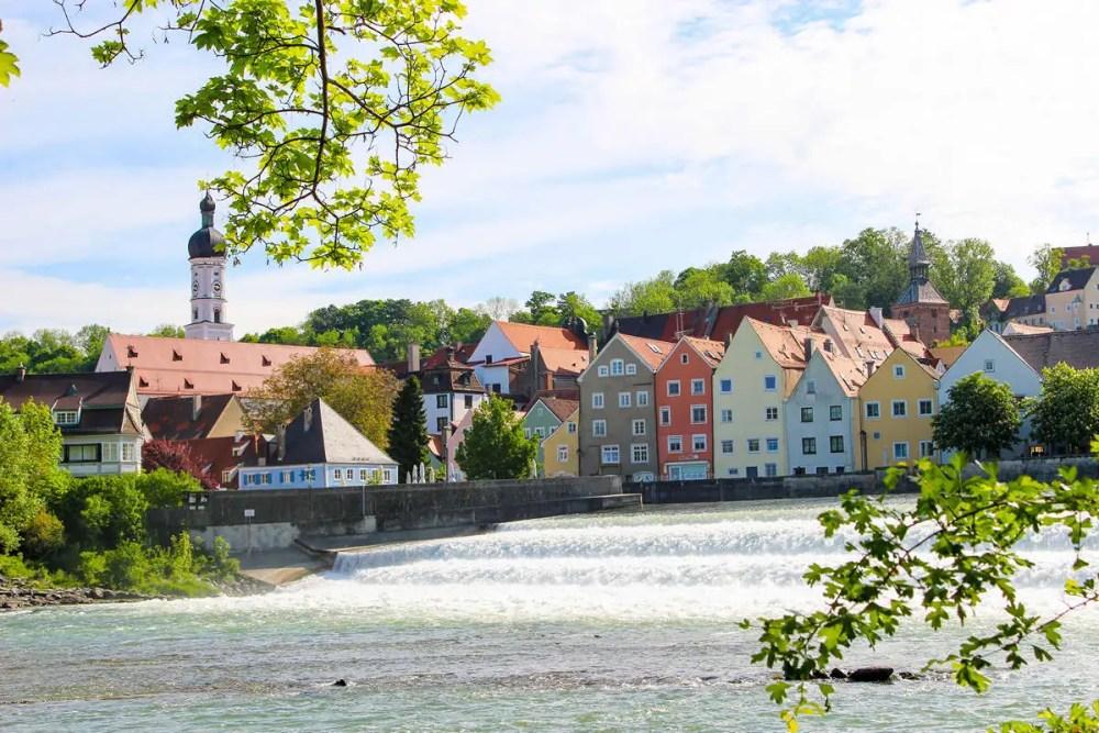 Lechwehr Wasserfall