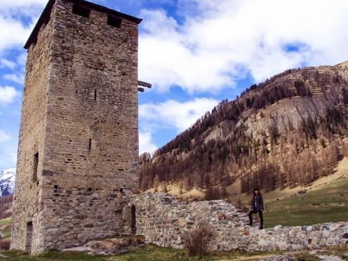 Ruine Steinsberg Ardez