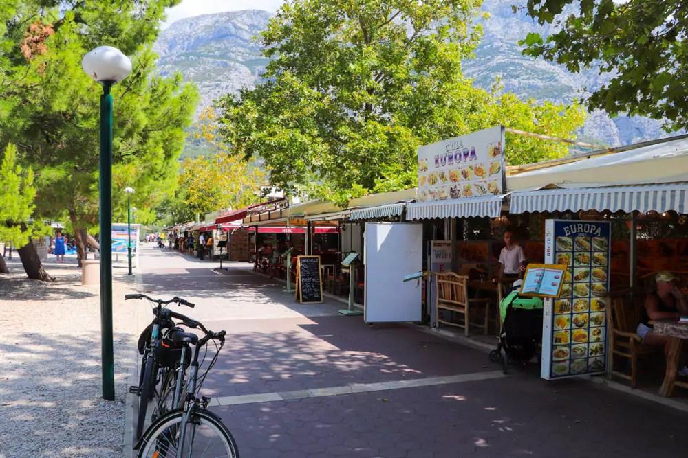 Restaurants Makarska