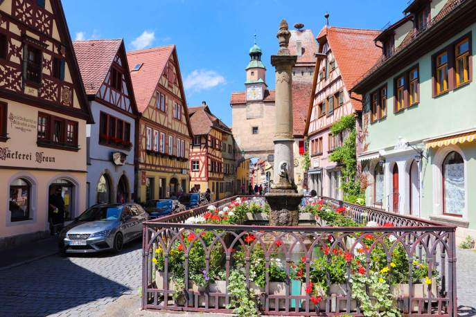 Röderbrunnen Rothenburg