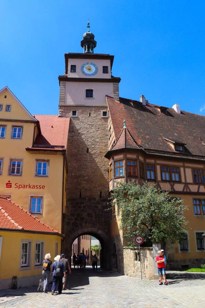 Weißer Turm Rothenburg