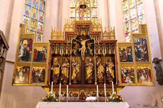 Zwölf Boten Altar in Rothenburg