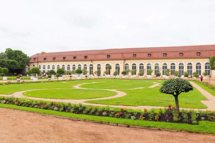 Hofgarten Orangerie Ansbach