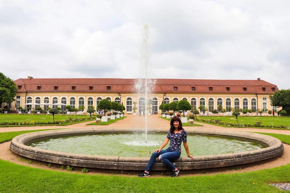 Orangerie Hofgarten Ansbach