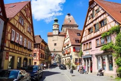 Markusturm in Rothenburg o.d. Tauber