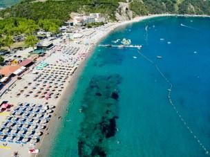 Jaz Beach Luftaufnahme