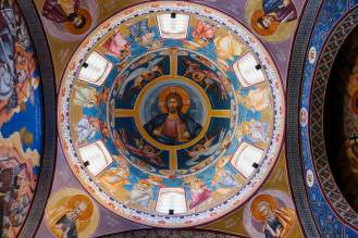 Kirchendecke St. Jovan Vladimir Bar