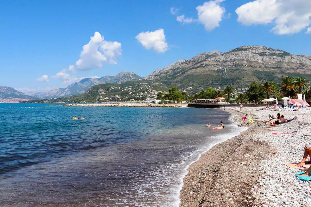Strand in Bar Montenegro