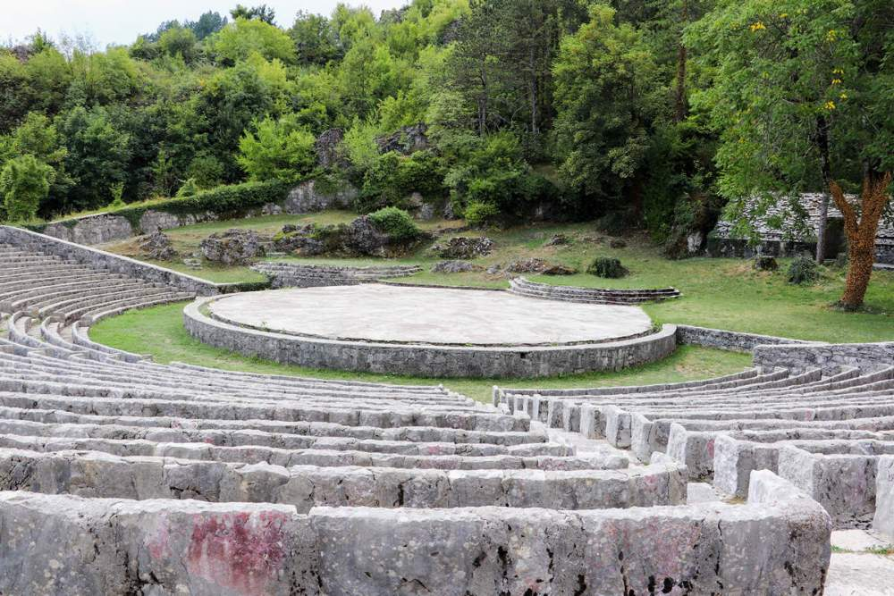 Amphitheater in Cetinje