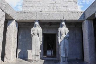 Eingang Mausoleum von Petar II. Petrović Njegoš