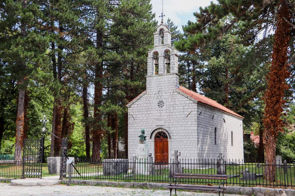 Vlaška Kirche Cetinje