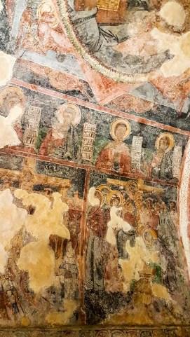 Fresken im Monastery of Rezevici
