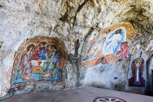 Mosaike im Kloster Ostrog