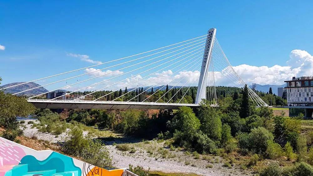 Millenium-Brücke Podgorica