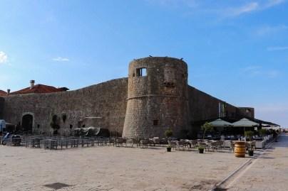 Stadtmauer Budva