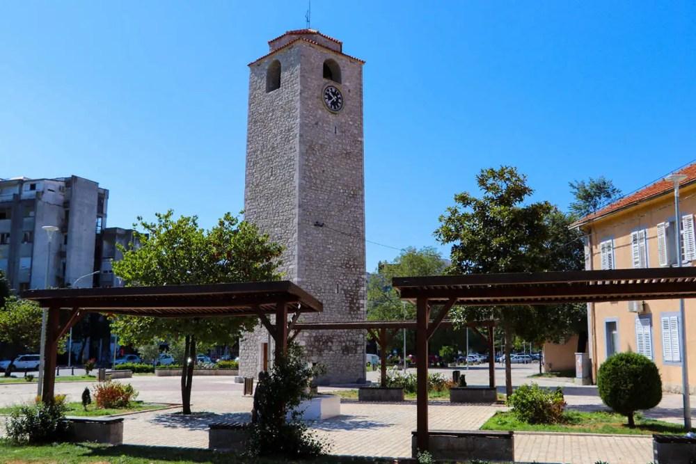 Podgorica Uhrturm