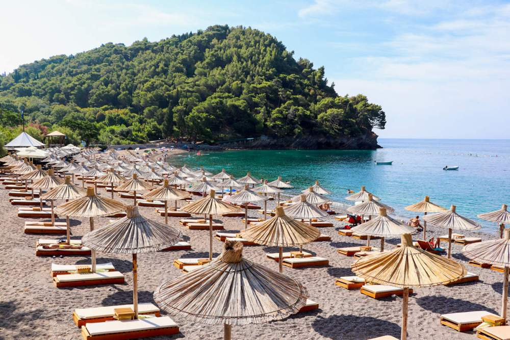 Luchica Beach in Montenegro
