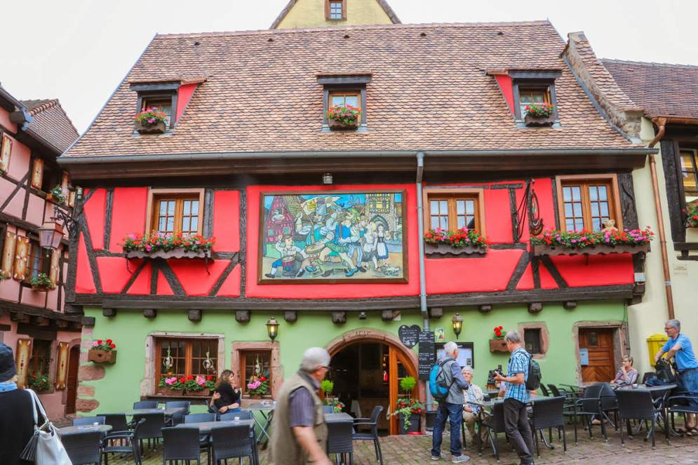 Mittelalterliches Haus Riquewihr
