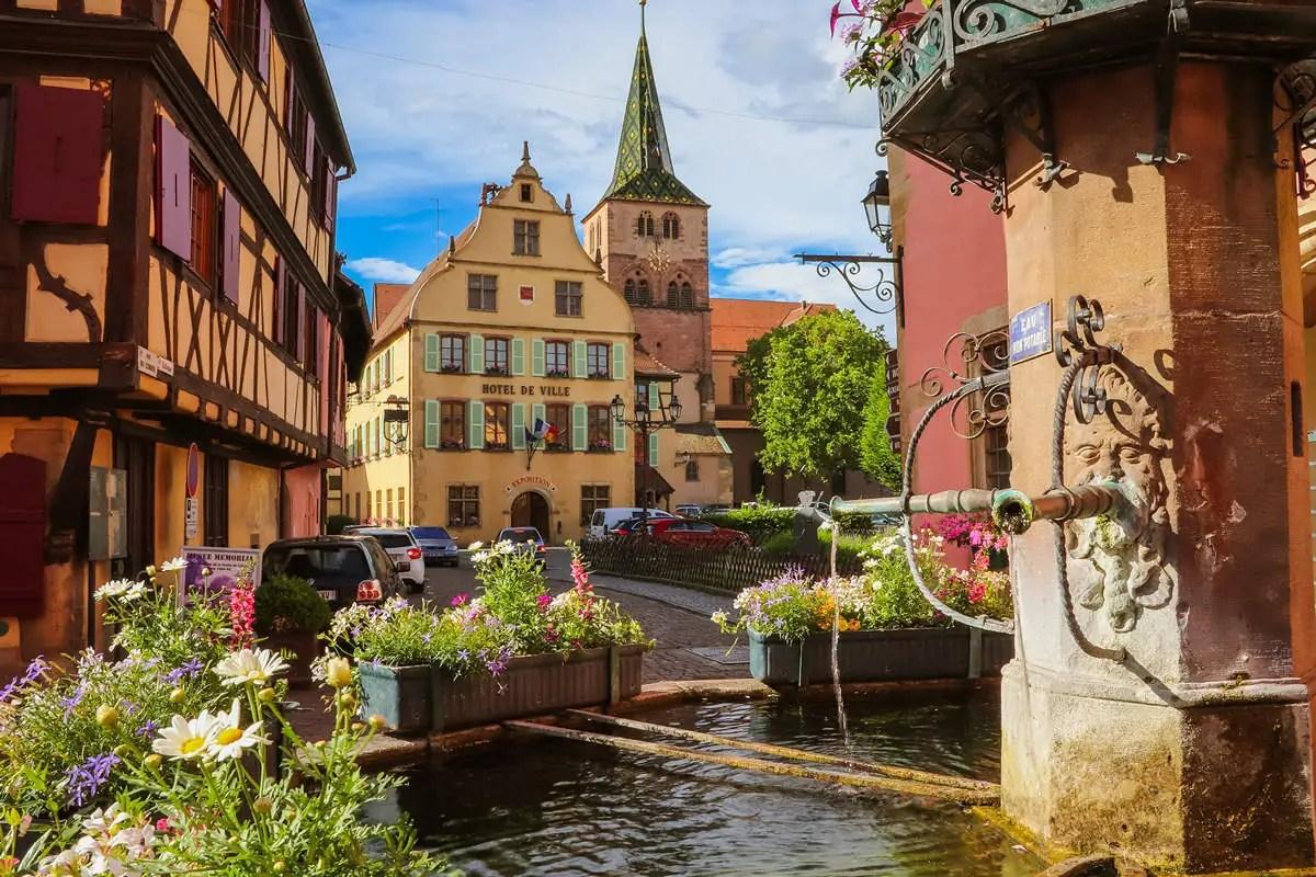 Turckheim im Elsass