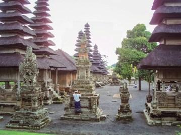 Tempel des Schwimmenden Gartens Bali