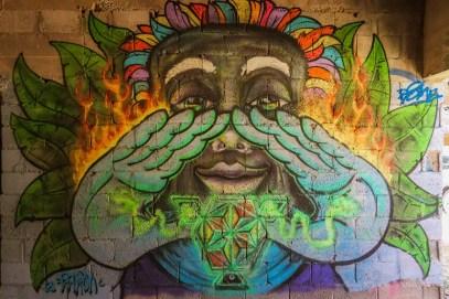 Ibiza Cala D'en Serra Graffiti