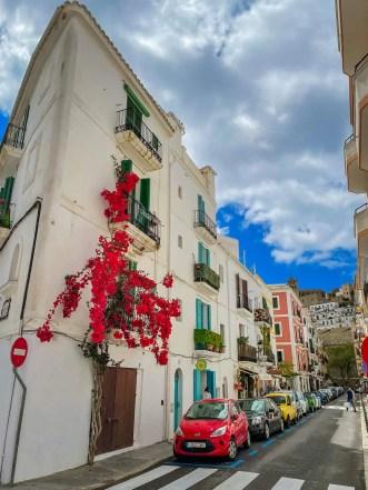 Straßenbild Ibiza-Stadt