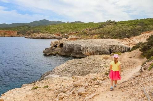 Höhle Cova de Llevant Ibiza