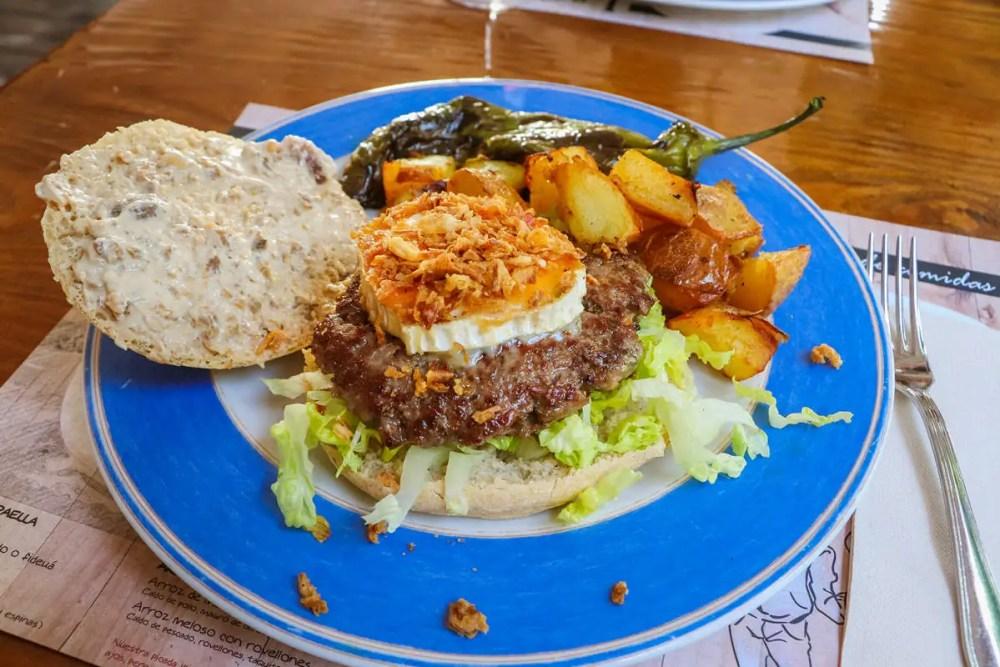 Ibizenkischer Burger