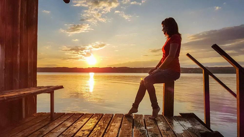 Sonnenaufgang Starnberger See
