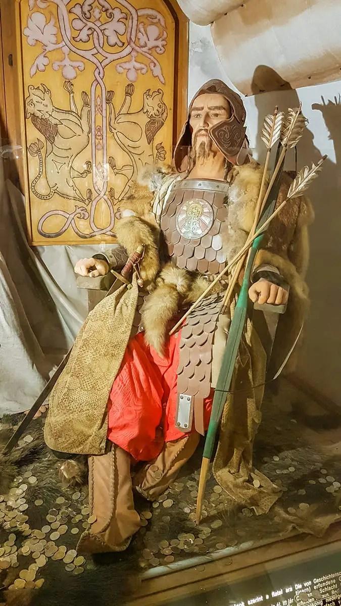 Attila im Historischen Panoptikum Keszthely
